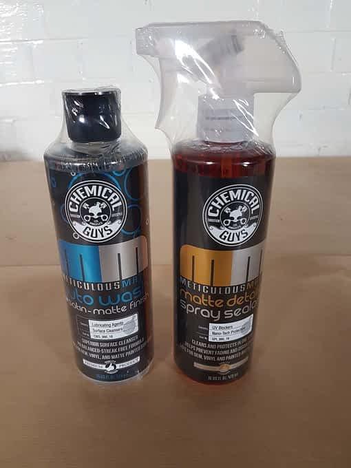 Chemical Guys Matte Finish Paint Kit - SlickShifts Detailing Store
