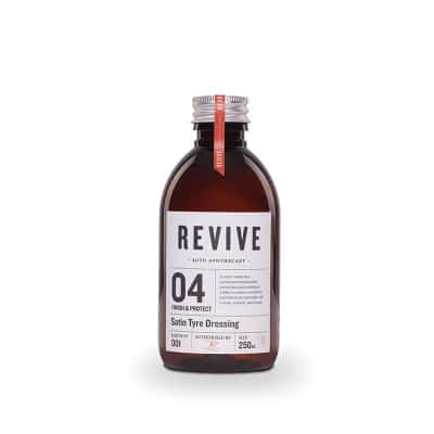 Revive Auto Apothecary - 04 Finish & Protect - Satin Tyre Dressing 250ml