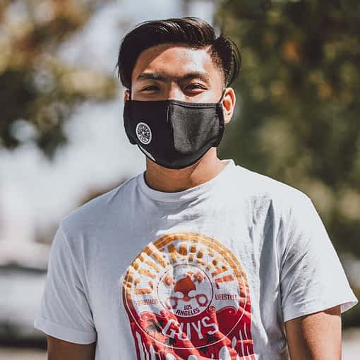 Chemical Guys Black Cotton Non-Medical Face Mask