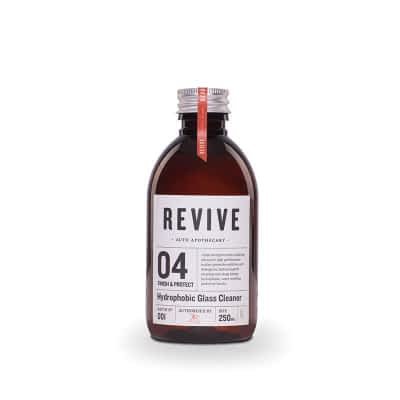 Revive Auto Apothecary - 04 Finish & Protect - Hydrophobic Glass Cleaner 250ml
