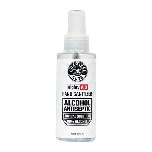 Chemical Guys Eighty Aid Alcohol Antiseptic 4oz