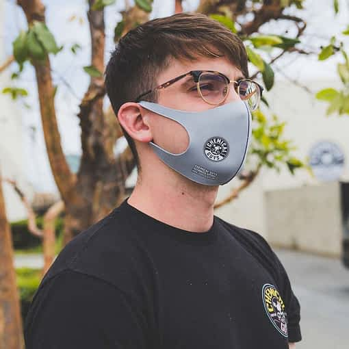 Chemical Guys Grey Cloth Non-Medical Face Mask