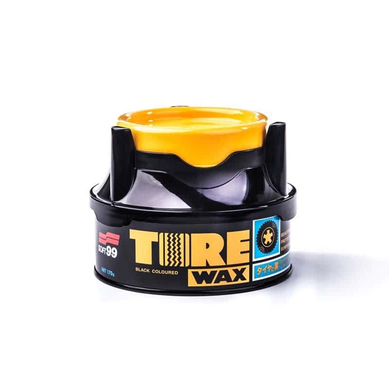 Tire Black Wax 1
