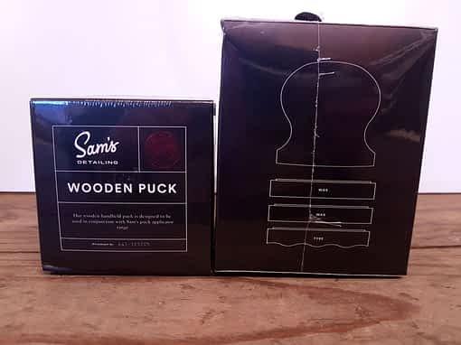 Sam's Detailing Wooden Puck & Applicator Puck Kit