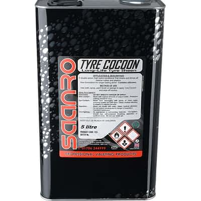 Saanro Tyre Cocoon - Tyre Shine 5 Litres