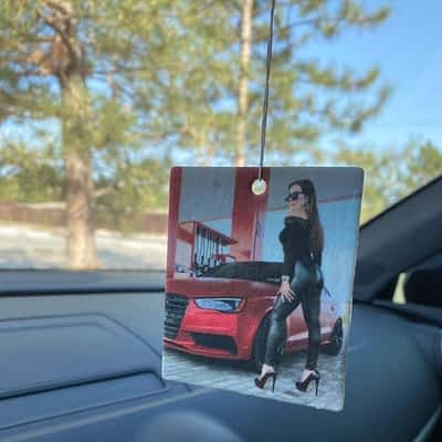 Mary_inRed This is a 3 Pack of Hanging Air Fresheners featuring the Gorgeous Mary from Instagram! :)