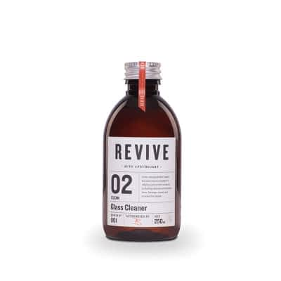Revive Auto Apothecary - 02 Clean - Glass Cleaner 250ml