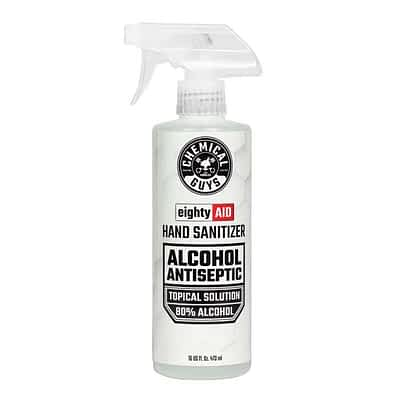 Chemical Guys Eighty Aid Alcohol Antiseptic 16oz