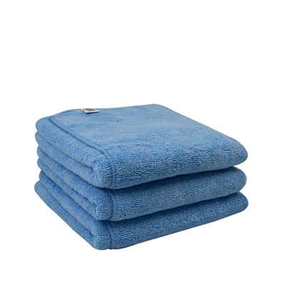 "Chemical Guys Workhorse XL Microfibre Towels Blue 16 x 24"" 3 Pack"