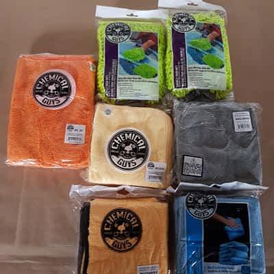Chemical Guys Cloths Kit Image - SlickShifts Detailing Store