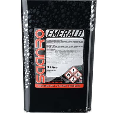 Saanro Emerald Glass Polish 5 Litres