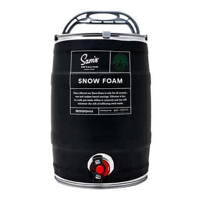 Sam's Detailing Snow Foam 5 Litre Keg