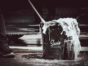 Sam's Detailing Shampoo Action