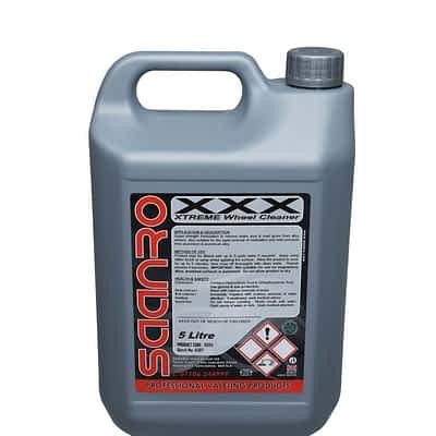 Saanro XXX Acidic Wheel Cleaner 5 Litres