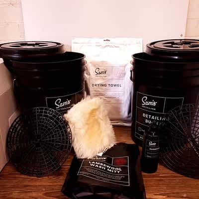 Sam's Detailing Bucket Kit Plus